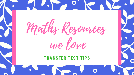 TRansfer Test maths top resources AQE Test maths
