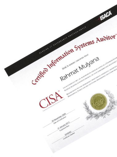 CISA [Certified Information System Auditor] Review 2016