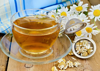 Chamomile flower tea is one of the most consumed teas in the world.