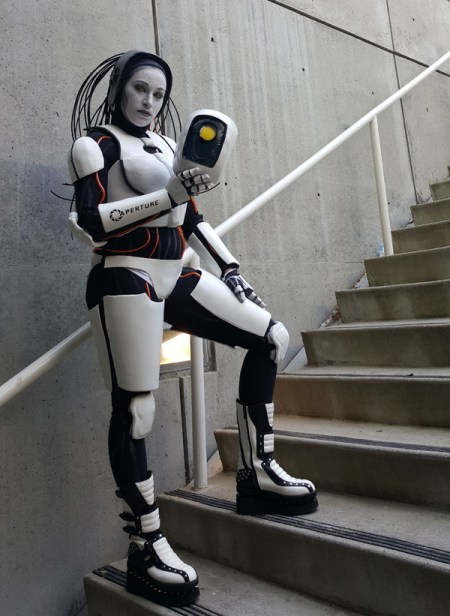 Glados-on-Stairs