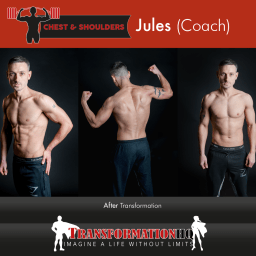 HQ Chest & Shoulders 1000 Jules Coach