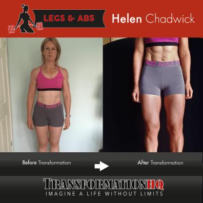 HQ Leaner Legs 12x12 Helen Chadwick