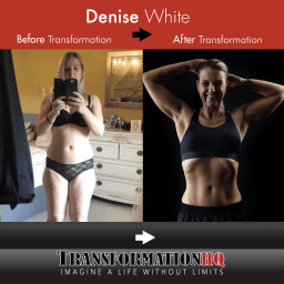 Transformation HQ Before & After 24x24 Denise White
