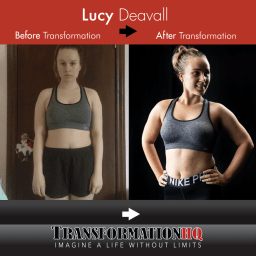 Transformation HQ Before & After 24x24 Lucy Deavall