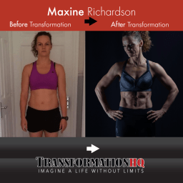 Transformation HQ Before & After 12x12 Maxine Richardson