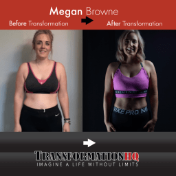 Transformation HQ Before & After 12x12 Megan Browne