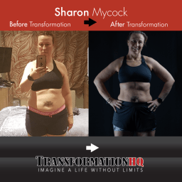 Transformation HQ Before & After 12x12 Sharon Mycock
