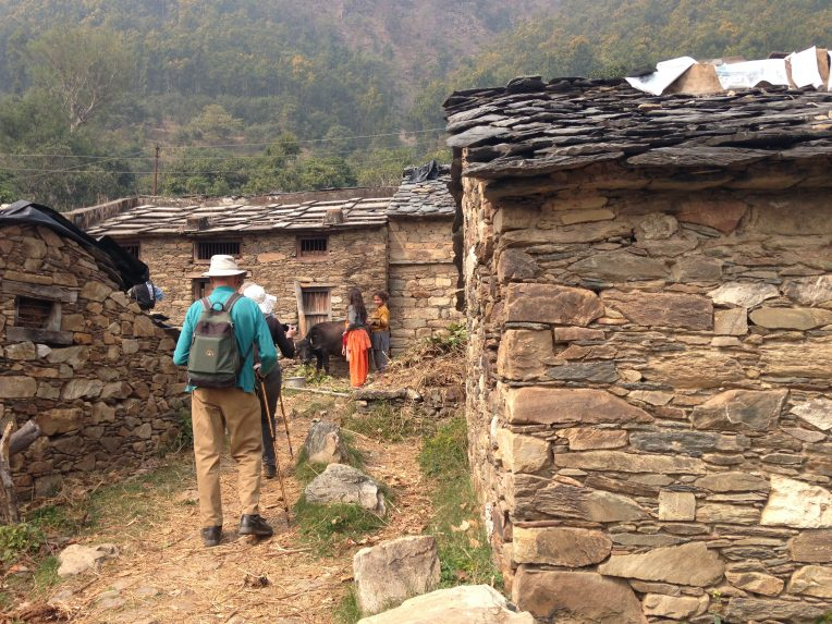 Kumaon Village walk in India