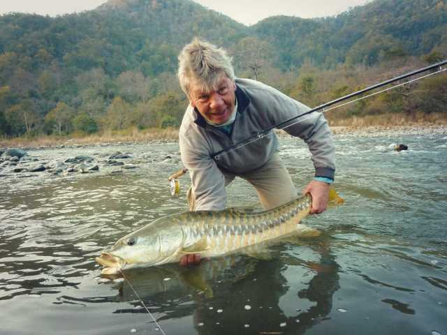 Golden Mahseer fishing in India