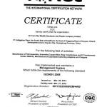 Certifikat CQC