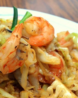 Live Healthy Maintenance Shrimp Stir Fry and Mixed Vegetables