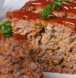 Family Size – Home Style Meatloaf