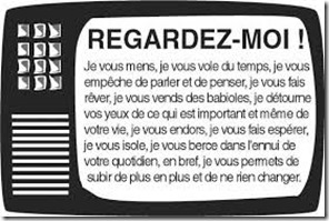 Regarder la télévision