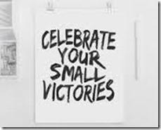 célébrer vos petites victoires