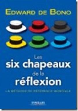 les six chapeaux de la réflexion Edward de Bono