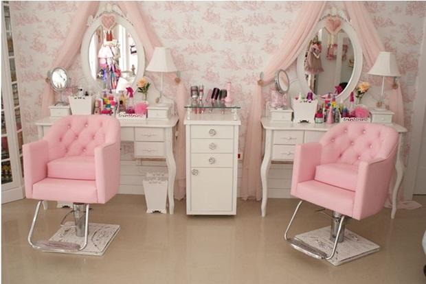 Decorar salão de beleza pequeno