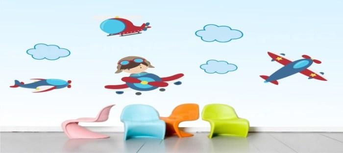 Adesivos de Parede para Quarto Infantil
