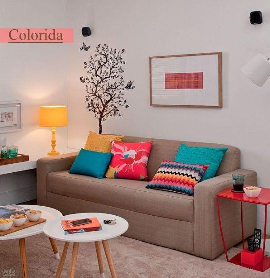 Dicas de decoração para salas pequenas2