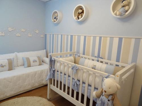 Decoração de quartos de bebê masculino