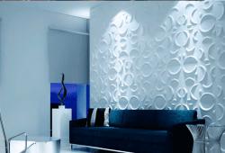 papel de parede 3d Papel de Parede Branco
