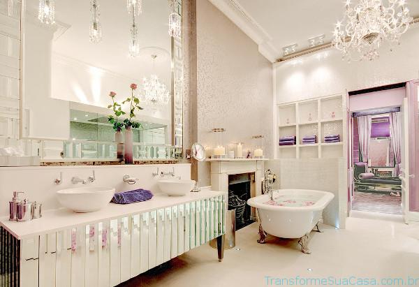 Banheiro de luxo – Como decorar 4 dicas de decoração como decorar como organizar