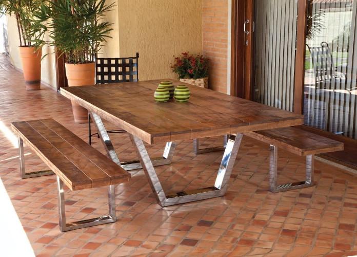 Base de madeira para mesa de jantar – Maciça, rústica (4) dicas de decoração fotos
