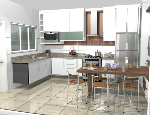 Cozinha planejada para apartamento – Como decorar 10 dicas de decoração como decorar como organizar