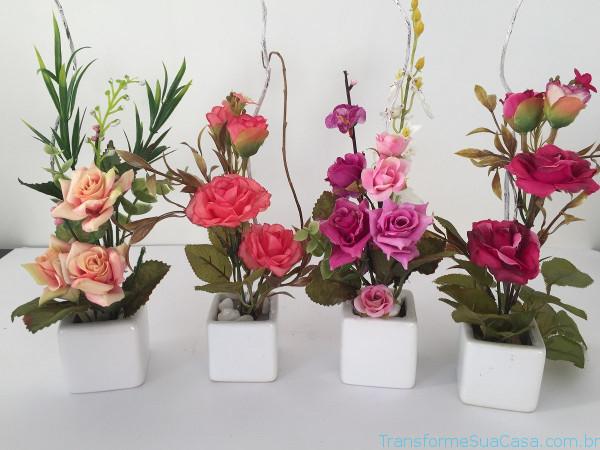 Decoração com plantas artificiais – Como fazer (9) dicas de decoração como decorar como organizar