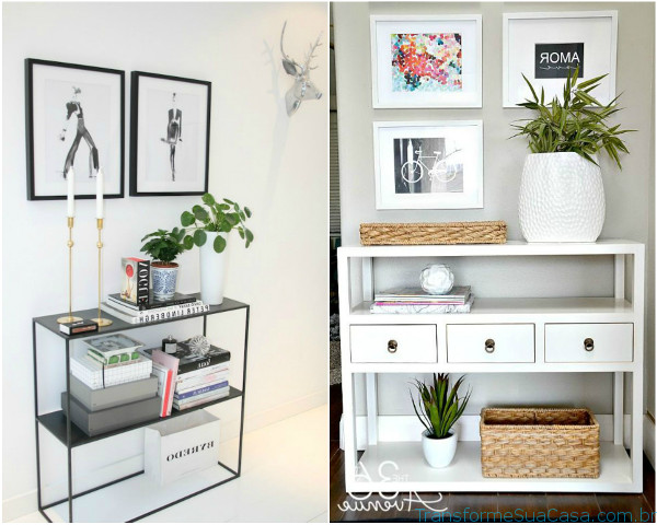 Decoração de hall de entrada – Como fazer 8 dicas de decoração como decorar como organizar