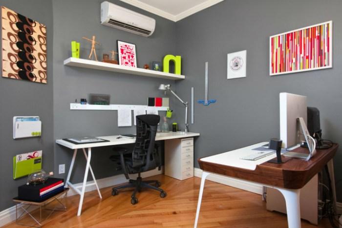 Escritório profissional – Como decorar, dicas, fotos (6) dicas de decoração fotos