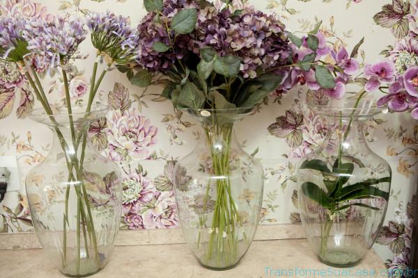 Flores artificiais – Como usar 6 dicas de decoração como decorar como organizar