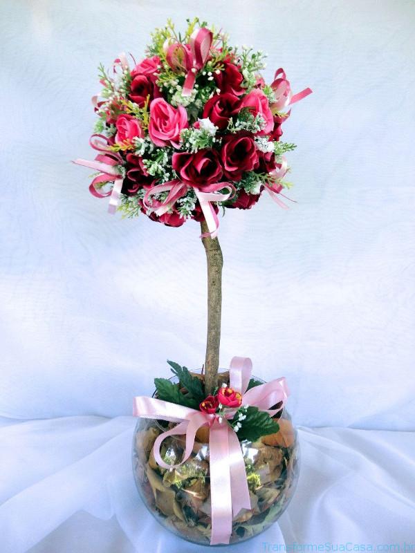 Flores artificiais – Como usar 7 dicas de decoração como decorar como organizar