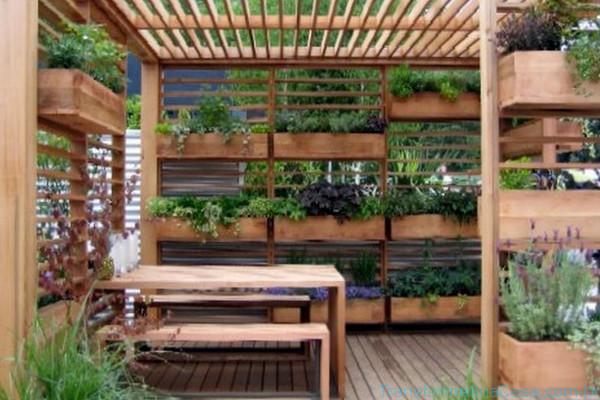 Jardim vertical – Como fazer (8) dicas de decoração como decorar como organizar