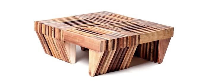 Mesa de centro de madeira de demolição – Como escolher (7) dicas de decoração fotos