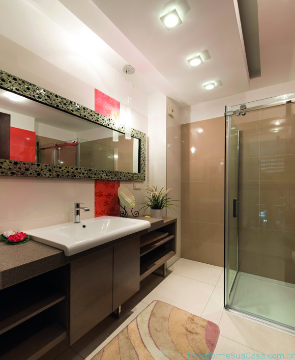 Piso para banheiro – Como escolher (8) dicas de decoração como decorar como organizar