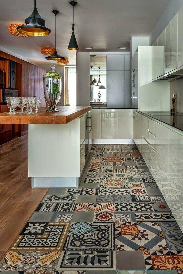 Piso para cozinha – Como escolher 9 dicas de decoração como decorar como organizar