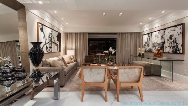 Salas de luxo – Dicas de Decoração (6) dicas de decoração como decorar como organizar