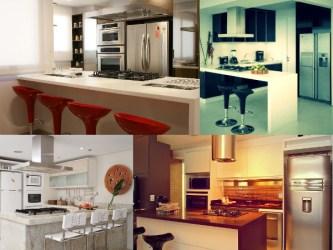 cozinha americana casas simples pequenas dicas objetos decoracao