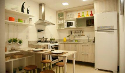 cozinha casas americana pequenas simples dicas pequena objetos planejada cores decorar como parede bonita elegante sua casa apartamento das nossas