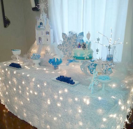festa frozen decoracao pisca 1