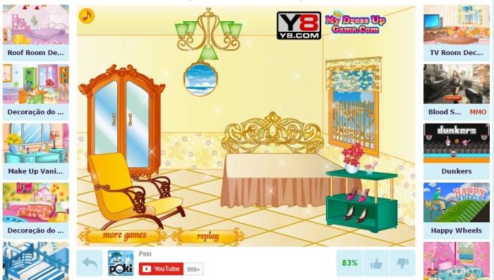 jogo Quarto da Garota Princesa