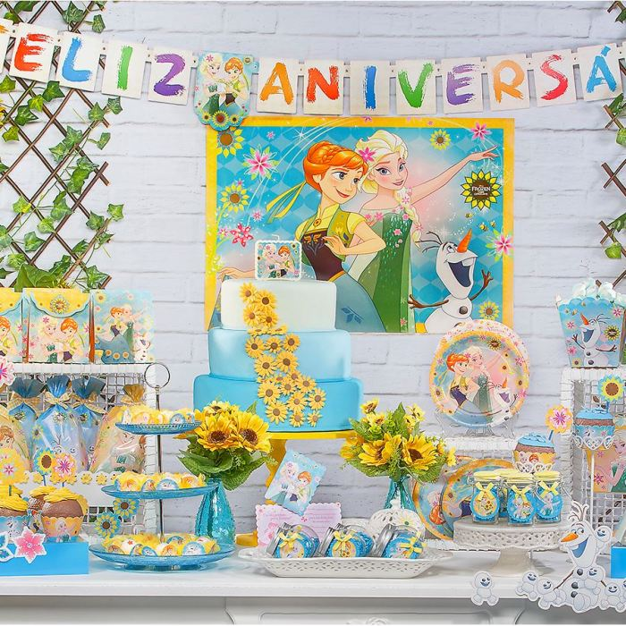 Os temas de festa infantil na MZ Decorações Frozen