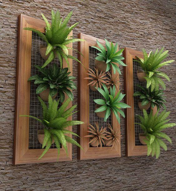 Ideias para montar jardins pequenos