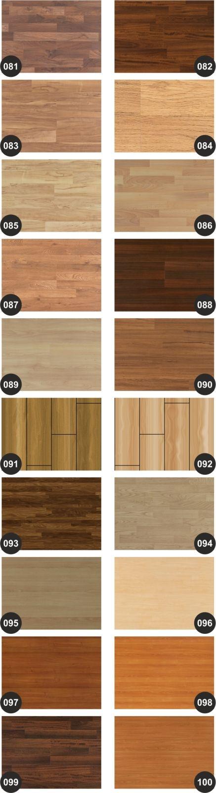 Quais são os tipos de piso vinílico?