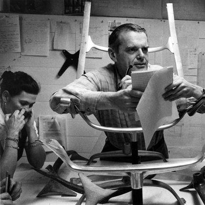 A história de sucesso do casal Charles e Ray Eames