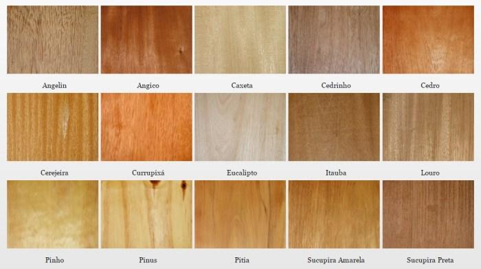 Tons de madeira: quais as possibilidades