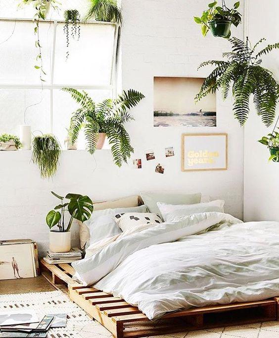 cama de paletes