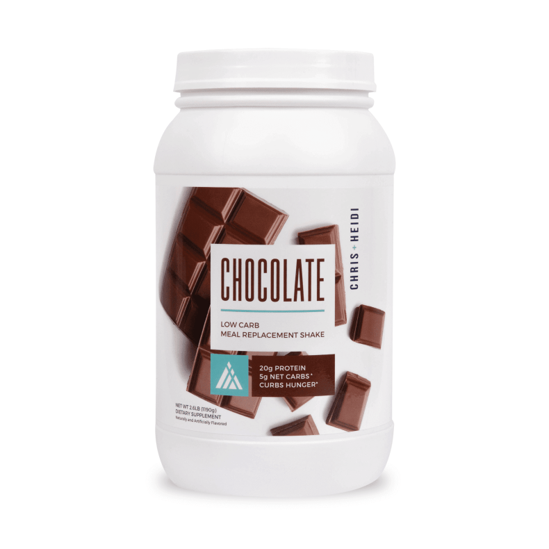 Chris and Heidi Low Carb Meal Replacement Shake - Chocolate