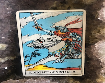 Knight of Swords with a Capricorn New Moon