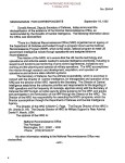 NRO Memorandum for Release